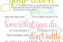 Favorite Quotes / by Michelle Housman Miller