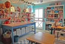 Craft Sewing Room / by Crystal Chesser