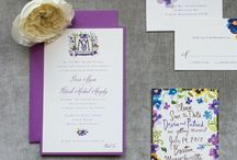 Pen and Paper / Wedding invitations, wedding calligraphy, and more.  / by Ashley Lurcott