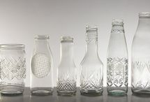 Glass / Glass and styling, ideas for the home / by Lucinda Harris