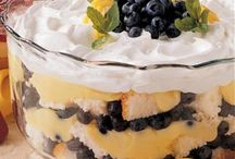1 Trifle, Pudding & Jello Desserts / Desserts made with pudding / jello / by Donna Caillouet