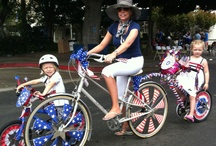 Bicycle & Golf Cart decorating contest / by Carli Best