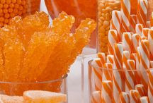 Orange Candy Buffet Ideas / by CandyDirect