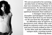 A little bit about our artists! / by Giving Tree Jewelry