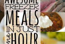 Freezer meals / by Nikki Wofford