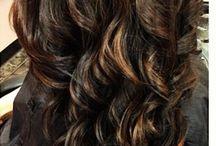 Dark hair color / by Kim Ford