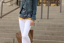 CUTE Clothes! / Dresses - Skirts - Blazers - Cardigans - Hats - White Button Down - Denim  / by Melony Healy