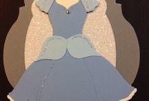 Cards Framlits Dress Disney / by Joan Tallent