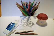 Markers & Pencils / by Angie Brown :)