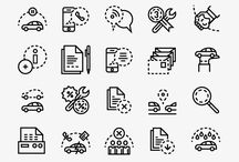 Icon Pins / Icon inspiration. / by IdentityLab