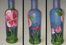 Reciclagens garrafas  / by silvia vivi