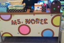 Polka-dot classroom ideas / by Ansley Eldred