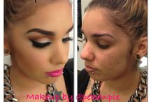 befor&after makeup / by shakira lebron