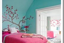 Girls bedroom / by Tania Frost