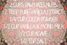 recipes / by milk tea