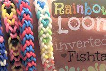 Rainbow Loom / All of the Rainbow Loom YouTube tutorials by SoCraftastic. / by Sarah Takacs