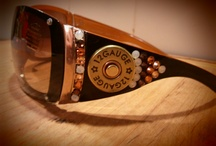 What we started 2012 / Custom Individually hand crafted Eye wear for the Pistol Packer Girl!. Its what Girls (who love guns) are made of! Come visit us @ http://pistolpackinpretties.com/ or Facebook.com/Pistol Packin' Pretties / by Pistol Packin' Pretties