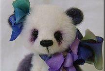 Artist Handmade Teddy Bears / Favorite Handmade Teddy Bears by some Outstanding Artists / by DeanasQuiltsandMore
