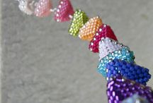 my bead & jewelry work / Bead patterns that I made by another artist will have links to the original source at my blog. / by Lois Moon