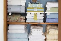 Home - Linen Closet / by Amy Wilson