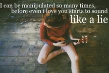 Lovely Song Lyrics!  / by Bailey Newman