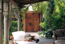 outdoor living ~ / by Loretta Cohen