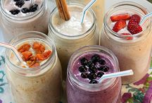 food | smoothies / fruit and yogurt take a spin / by Nancy Butterfield |The Freckled Gardener