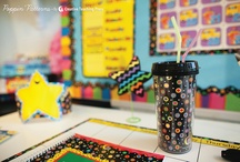 Poppin' Patterns & Dots on Black Classroom Inspiration / by Creative Teaching Press