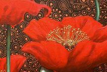 Poppies make me happy / by Rebekah Randall