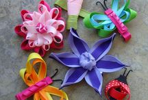 Hair bows / by Stephanie Fahringer