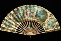 Beautiful lace and painted fans / by Linda Aubrey