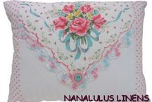 Handkerchief Hankie Ideas DIY / by Nanalulus Linens and Handkerchiefs