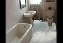 Bathroom Floors / by Janet Murray