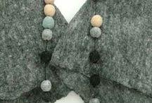 Textiles: Felted Jewelry / by Nichola Pitt Fibre Art