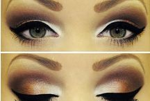Brown eyed girl / Eyes, Make up, Beauty / by Shally Iyer