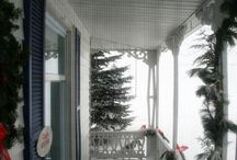 Front porch ideas / by Susan Umoto-Mangubat