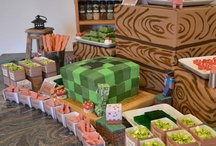 Hud's Minecraft Birthday Party / by Marcy Pinne George