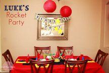 Kids Party Ideas / by Jamie Timmer-Bisek