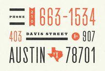 Typography & Fonts / by Bianca Van Meeuwen