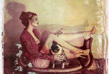"""Haute Couture: The Polaroids of Cathleen Naundorf"" / by Rafael Srur"