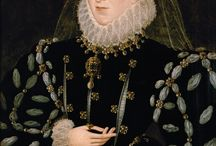Black Dresses - English / 16th century costume:  black/mourning. / by Carolyn Eaton