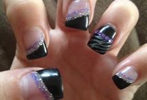 purple, black and silver wedding / by Vanity Sc