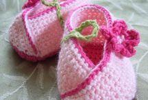 Crochet Baby Booties & General Footwear / A selection of #Crochet Booties & footwear designs I like. Visit my website for my own originally designed FREE crochet patterns www.patternsforcrochet.co.uk / by Patternsforcrochet (a free pattern website)