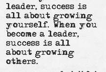 Leadership  / by Vicky Yarrow