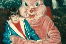 Creepy Easter Bunnies / These are some of the freakiest Easter Bunny outfits I've come across. / by Curt Johnson