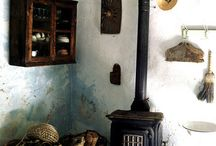 Fireplaces / by Connie Morgan