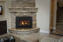 new fire place / by Kati George