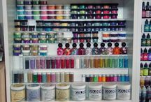 Craft Room Storage & Organization Ideas / by Vanessa Vander Pol