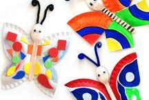 Crafts for children  / by Gerda Pait