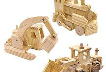 wood toys for boys / by ken Denham